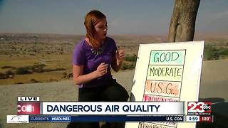 Bad air quality prompts schools to keep kids indoors - Video
