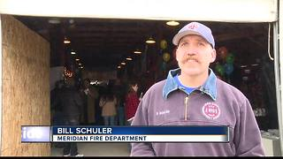 Meridian Fire holds 10th annual chili cook off - Video