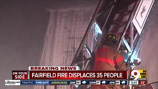 Fire department: 35 displaced in Fairfield apartment fire