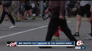 No smoking at Red Bull Air Race at Indianapolis Motor Speedway - Video