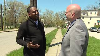 Cleveland Councilman Basheer Jones talks about repaving streets in his ward - Video