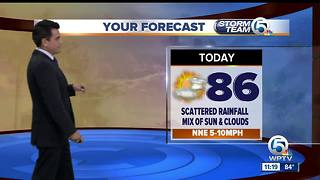 South Florida Tuesday afternoon forecast (10/17/17) - Video
