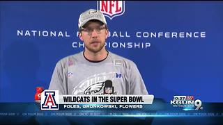 Wendell Neal talks Wildcats in the SuperBowl - Video