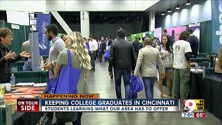Keeping college graduates in Cincinnati - Video