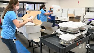 Jewish Family Services feeding families for the holiday