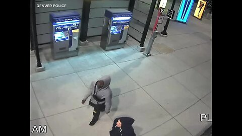Denver PD releases video of two people sought for questioning in homicide