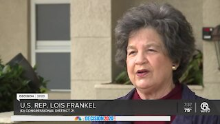 U.S. Rep. Lois Frankel optimistic about re-election to 21st Congressional District