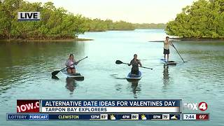 Valentines Day at Tarpon Bay Explorers - 7:30am  live report - Video