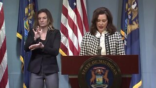 Governor Whitmer responds to boat controversy, saying her husband made a 'failed attempt at humor'