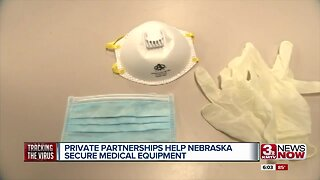Private partnerships help Nebraska secure medical equipment