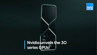 Nvidia unveils the 30 series GPUs!