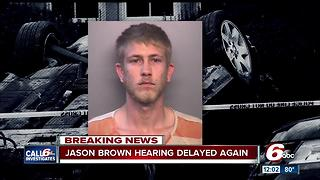 Jason Brown: Court hearing for man accused of killing Lt. Aaron Allan delayed again - Video