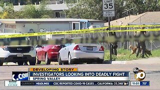 Investigators looking into deadly fight