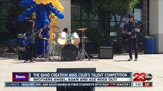 The band Creation wins CSUB's Bakersfield's Got Talent competition - Video