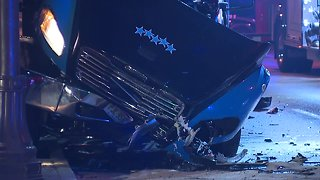 2 hospitalized after crash involving a car and tow truck