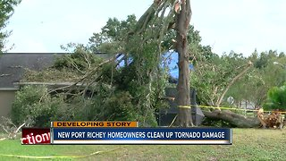 Tornado clean-up underway in Pasco Co. after Friday storms