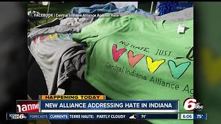 New alliance addressing hate crimes in Indiana - Video