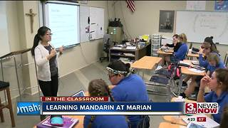In the Classroom: Learning Mandarin in high school - Video