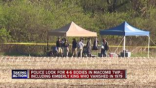 Police search Macomb Township for bodies in decades-long cold case
