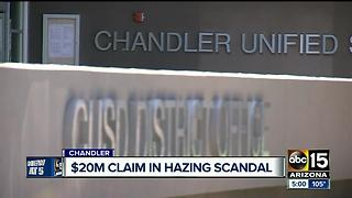 Families of alleged Hamilton High School hazing victims plan to sue district for $20 million - Video