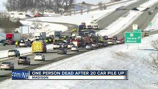 Fatal crash in Dane County - Video