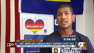 LGBTQ Americans wait with caution for Trump's Supreme Court pick - Video