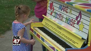Pianos spark creativity in downtown Charlotte - Video
