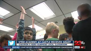 Local classroom surprised with meteorology kits - Video