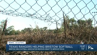 Bristow softball league teams up with Texas Rangers
