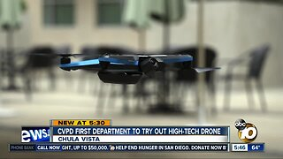 Chula Vista Police unveil new, high-tech drone