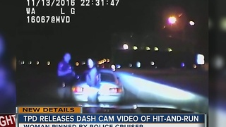 TPD Releases Dashcam Video Of Hit-And-Run - Video