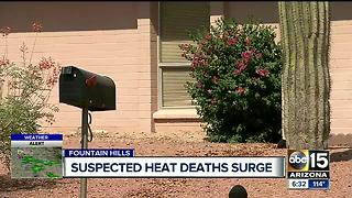 More than 60 deaths investigated as heat-related after stretch of triple digit weather - Video