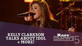Kelly Clarkson Talks About Idol + More | Rare Country's 5 - Video