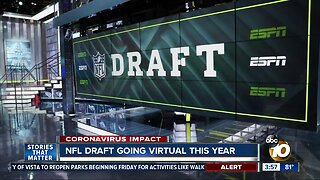 NFL draft going virtual this year