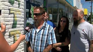 Owner of tattoo shop where accused cop killer worked on how the incident has affected his business - Video