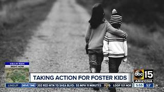 Taking action for foster kids - Video