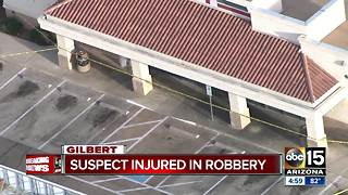 Police investigating attempted armed robbery in Gilbert - Video