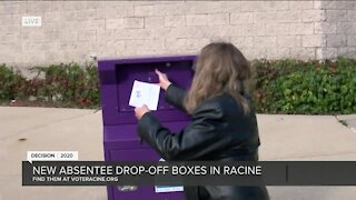 New absentee drop-off boxes placed in Racine