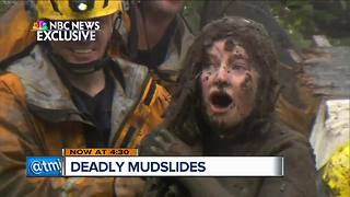 Deadly mudslides ravage California - Video