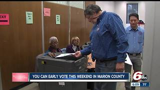 Early voting in Marion County continues at a brisk pace - Video