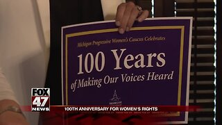 Lawmakers Commemorate 100th Anniversary of 19th Amendment