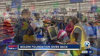 Anquan Boldin Foundation shopping spree 12/16