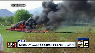 Mesa FD: 2 killed after plane crashes at Longbow Golf Club - Video