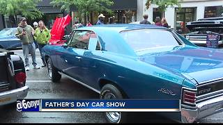 Downtown Boise Father's Day car show - Video