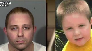 California man arrested in Las Vegas pleads guilty to killing son - Video