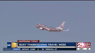 Busy Thanksgiving travel week ahead - Video