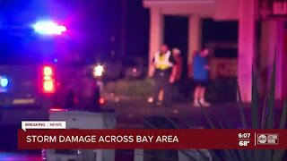 Storm damage across Pinellas County area