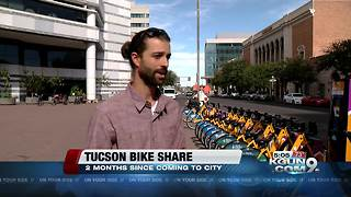 Bike share program exceeds six thousand rides after just 2 months - Video