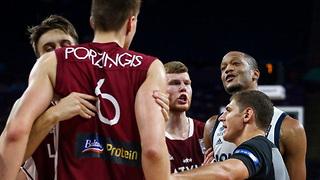 Kristaps Porzingis Challenged to Parking Lot Fight by Anthony Randolph - Video