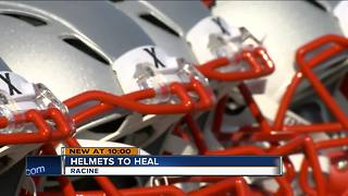 Local non-profit sacking concussions one helmet at a time - Video